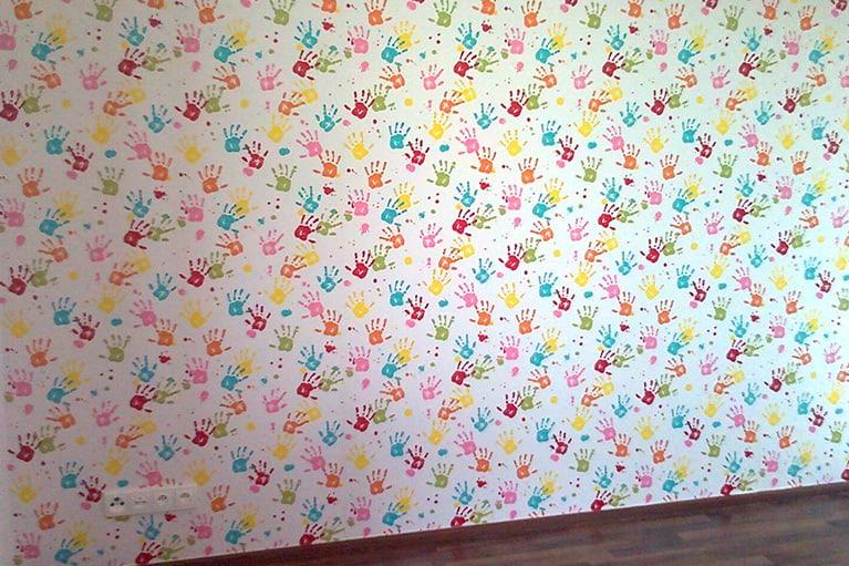 Malování dětských pokojů a tapetování