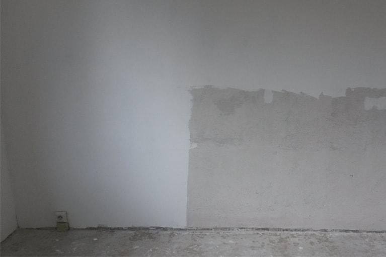 Štěrkování stěn